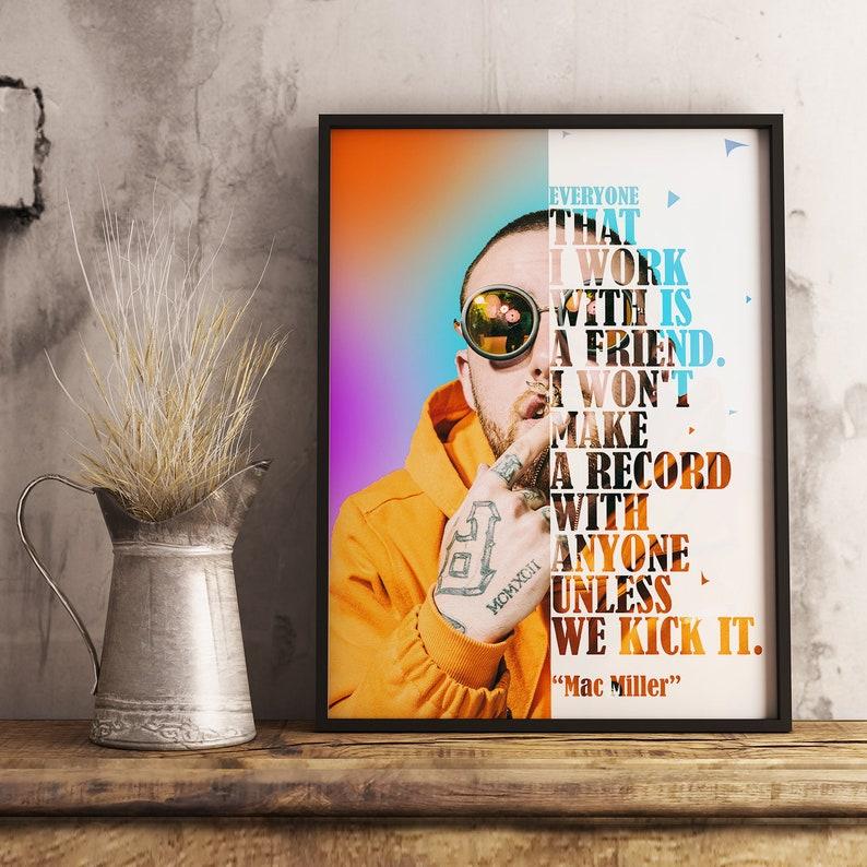 Mac Miller New Custom Personalized Art Print Poster Wall Decor
