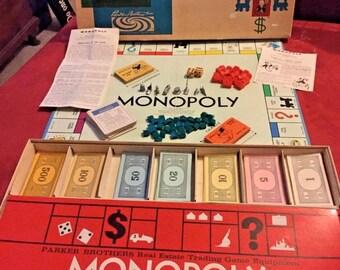 Monopole de pièces de rechange Waddington Board Game Argent