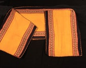 Large Peruvian Manta Cloth, Handwoven Peruvian Textile, Shamanic Ceremony Altar Cloth, Handmade Andean Textile, Mestana Q'ero Mesa Cloth