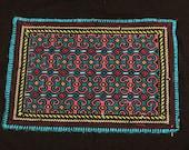 indigenous woven cloth - Peruvian Shipibo Design