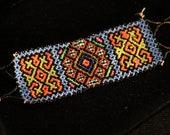 Indigenous beaded bracelet - Shipibo