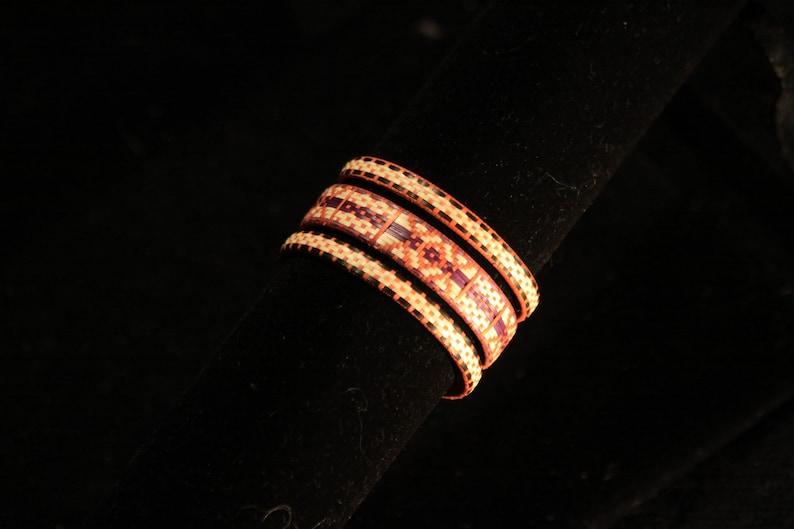 Adjustable indigenous cane bracelet  Colombia image 0