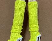 Yellow Boots pattern