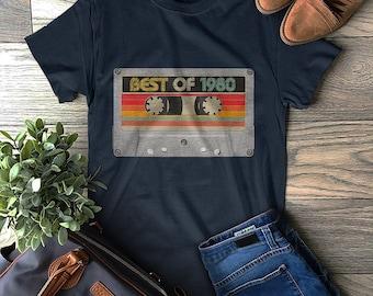Keep It Reel T-SHIRT Cassette Old Skool Tape Player Music Funny birthday gift