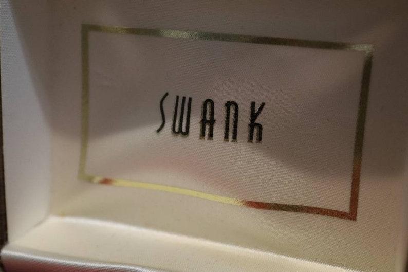 Nice shape Vintage Swank Men/'s Cuff Link Set with Case