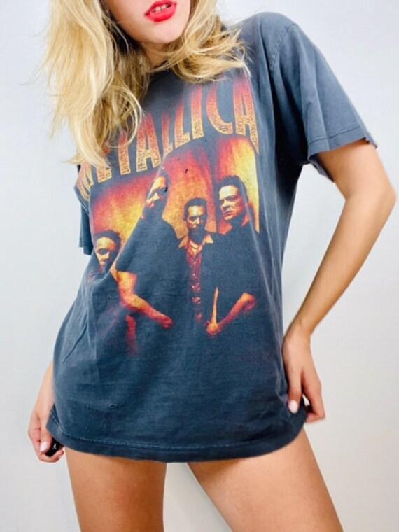 Vintage 1990's Metallica Metal Band T-shirt