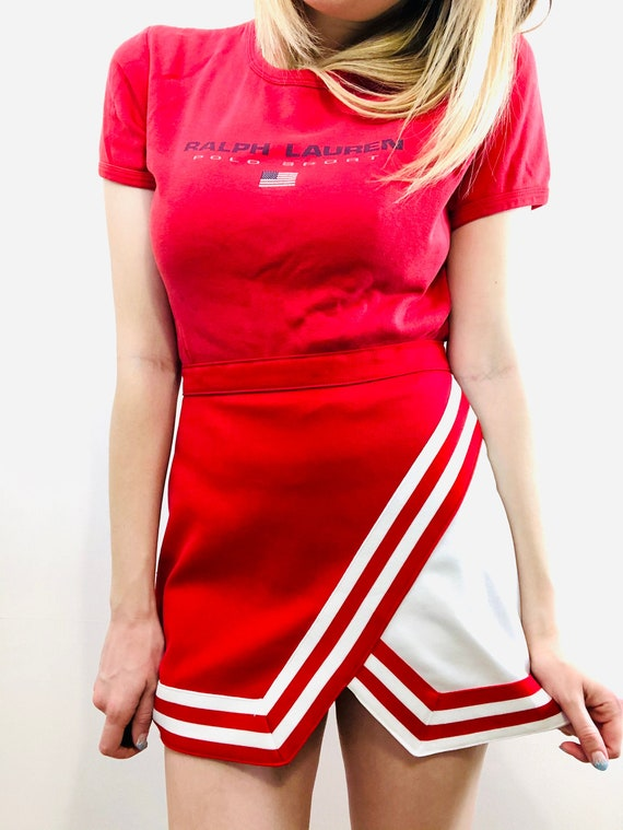 Vintage 1990's Polo Sport Red T Shirt