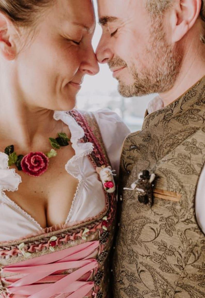 tierische Hochzeitsideen Anstecker