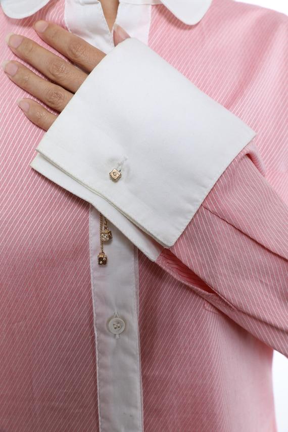 See By Chloe Cotton Shirtdress - Size 8 - image 5