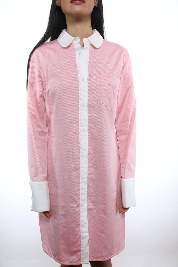 See By Chloe Cotton Shirtdress - Size 8 - image 2