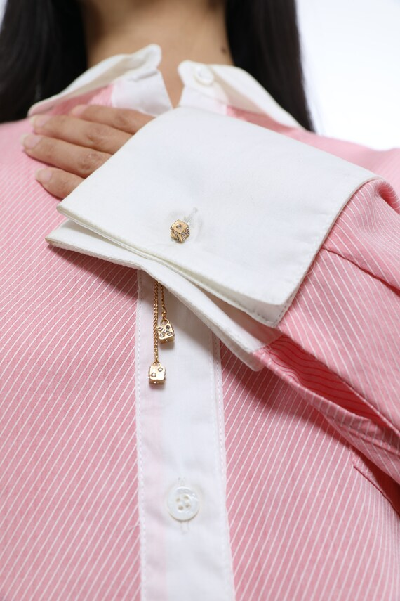 See By Chloe Cotton Shirtdress - Size 8 - image 1