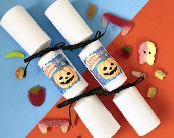 Halloween Gifts For Children*Halloween Sweets*Vegan Vegetarian Halal Sweets*Handmade Crackers*