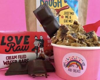 Edible Raw Cookie Dough Mix*Vegan Cookie Dough*Vegan Sweets*Cookie Dough*Raw Dough*