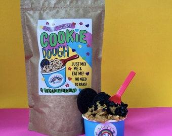 Edible Raw Cookie Dough mix*Plant Based*Vegan*Oreo Cookie Dough*Vegan Raw Cookie Dough*