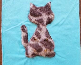 Catsifier - Kitten Suckling Pillow Cover- Blue's - Cat Pacifier