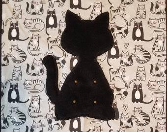 Cat Suckling Pillow Cover - Gray's - Cat Pacifier - Catsifier