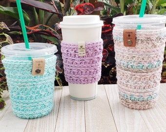The Haley Coffee Cozy Pattern, Not a Physical Product