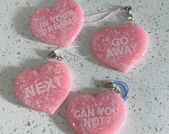 Anti-Valentine Keychain
