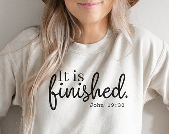 It is Finished Embroidered HatTetelestai Hebrew It is FinishedTetelestai HatIt is Finished BeanieJohn 19:30 Bible Verse It Is Finished