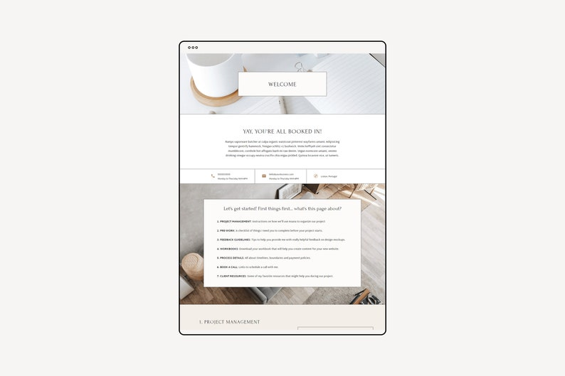 Website Template For Online Service Providers Showit Website ...