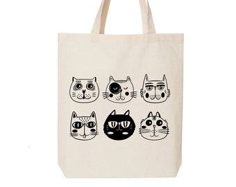 Moon and cat gift Cats lover gift Tote Bag Tote cat gift Moon tote bag Totes. Cat lover bag Kitten moon Mom/'s cat gift Kitten gift