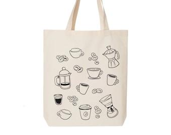 Large Recycled Starbucks Coffee Bag ToteFarmers Market BagPool or Beach Tote