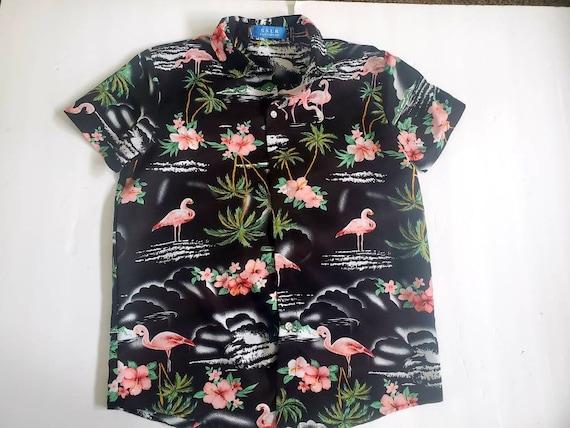 Boys SSLR Hawaiian shirt size Large/ boys short sl