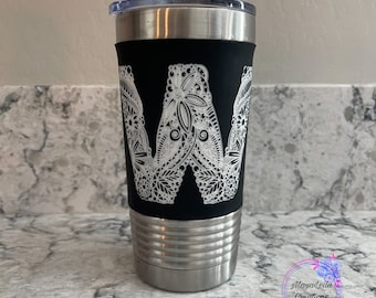 Personalized Polar Camel Tumblers, Stainless Steal Tumbler, 20oz Tumbler, Polar Camel Vacuum Insulated Silicone Grip Tumbler Custom