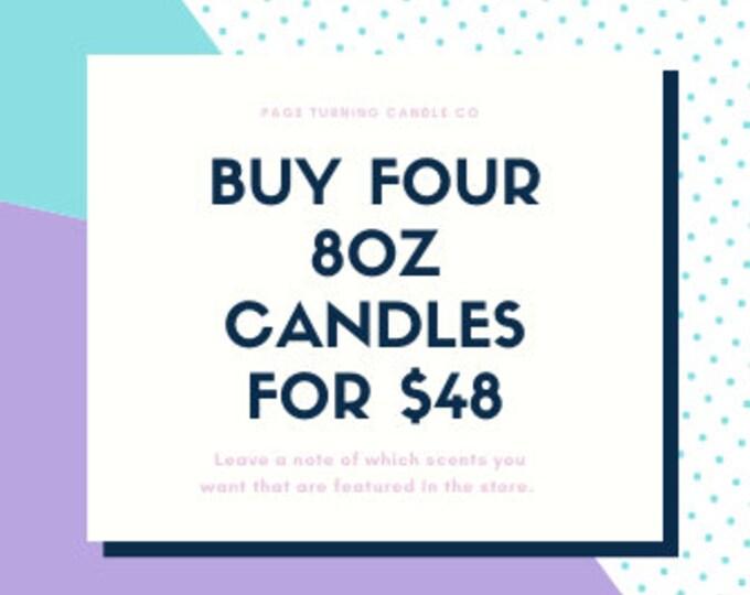 8oz Candle Bundle!