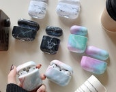 Marble airpod cover cases Apple Airpods Pro Cover Stone Airpods 3 Case AirPod Case For AirPod 1,2,3 Nice gift
