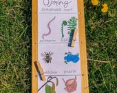 READY TO SHIP * Nature Board - For Outdoor Discovery & Adventure