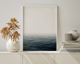 """Art Photography """"MISTY SEA"""" - unframed photo print, in black and white, different sizes"""