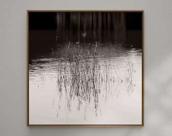 """Art photography """"LINES ON WATER"""" - photo print unframed or canvas print, different sizes"""