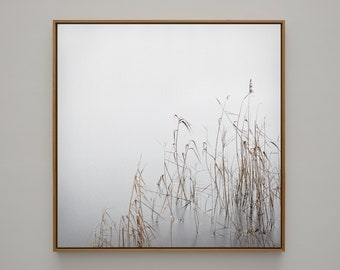 """Art photography """"GREY JANUARY""""- photo print unframed or canvas print, different sizes"""