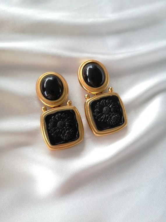 Escada vintage earrings
