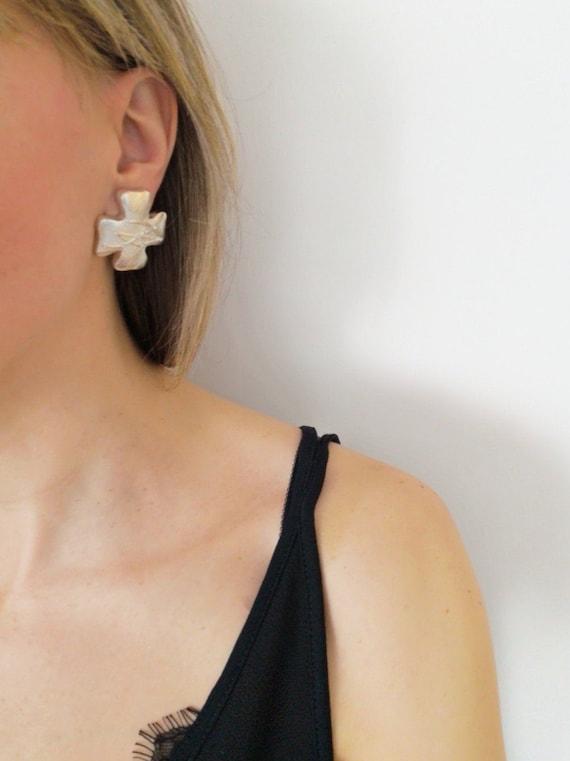 Christian Lacroix vintage earrings - image 7