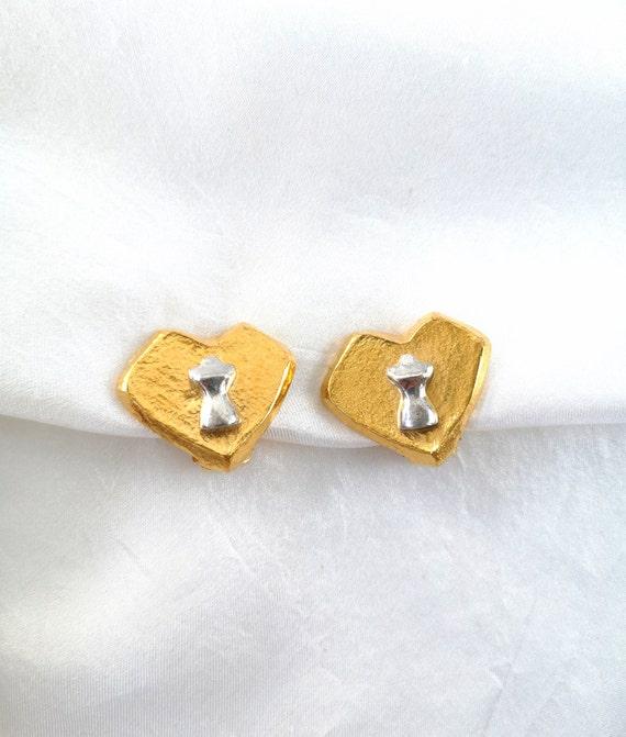 Vintage ungaro Paris earrings