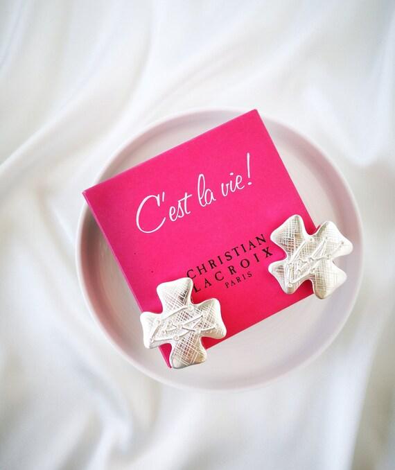 Christian Lacroix vintage earrings - image 6