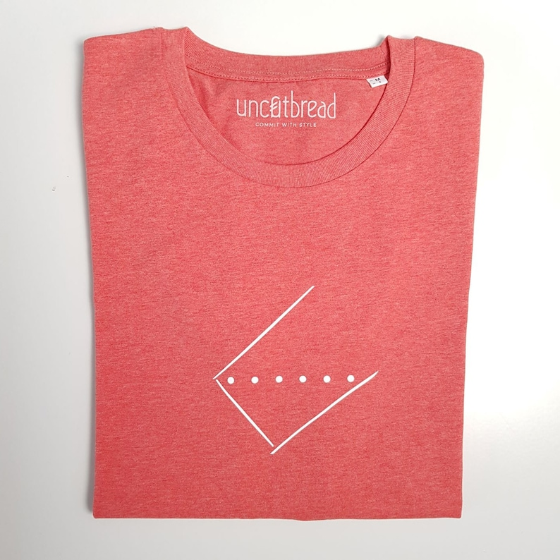 Unisex T-Shirt Create Water / in 3 colors Mid Red