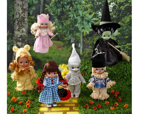 Best Seller**Precious Moments Wizard of Oz Collection- Free OZ Mini music box with purchase of set of 6