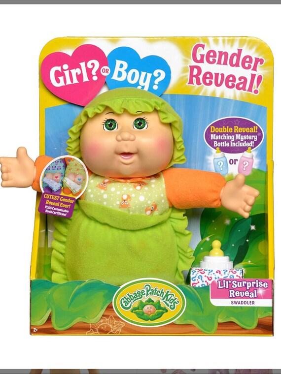 """Light Skin Cabbage Boy Surf Doll- Gender Reveal 9"""" Doll"""
