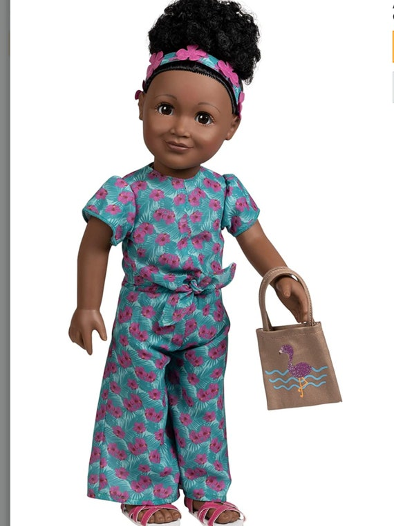 Adora 18-inch Doll, Amazing Girls Jada - African American girl Doll