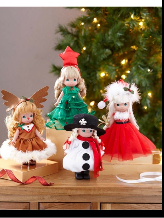 Precious Moments® Christmas Dolls- Collect all 4