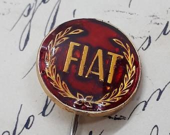 pin-back Vintage lapel pin Abarth
