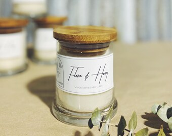 Flora & Honey   Handpoured Scented Candle
