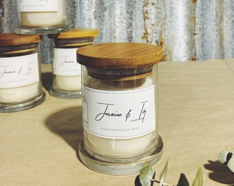 Jasmine & Ivy    Handpoured Scented Candle