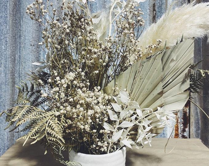 Natural Ivory - Dried Floral Arrangement