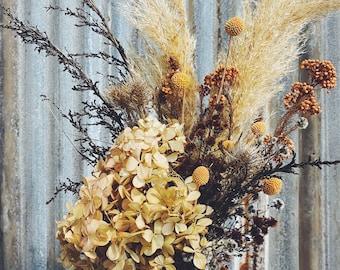 Burnt Ember - Dried Floral Arrangement