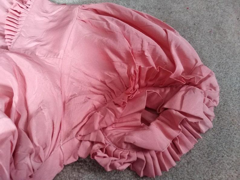 Vintage 1970s Pink Bride/'s Maid Dress