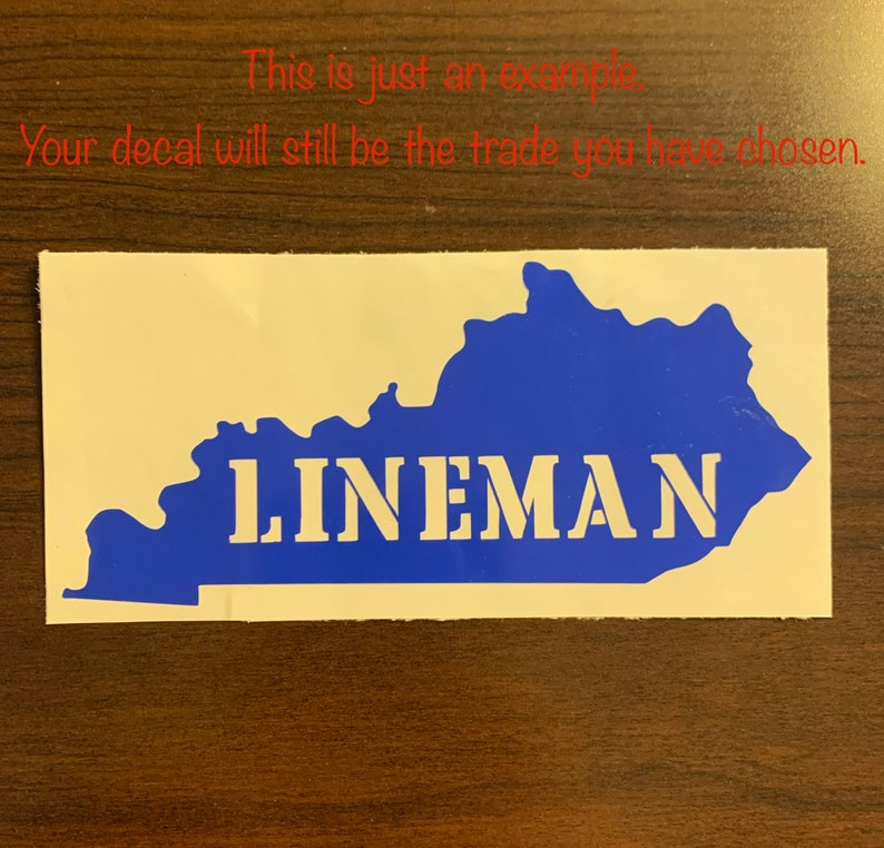 State Pipeline Trade Car Decal